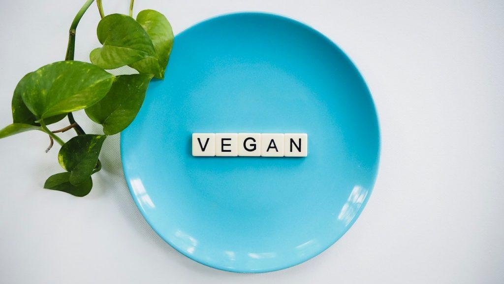 Plato de veganos estrictos